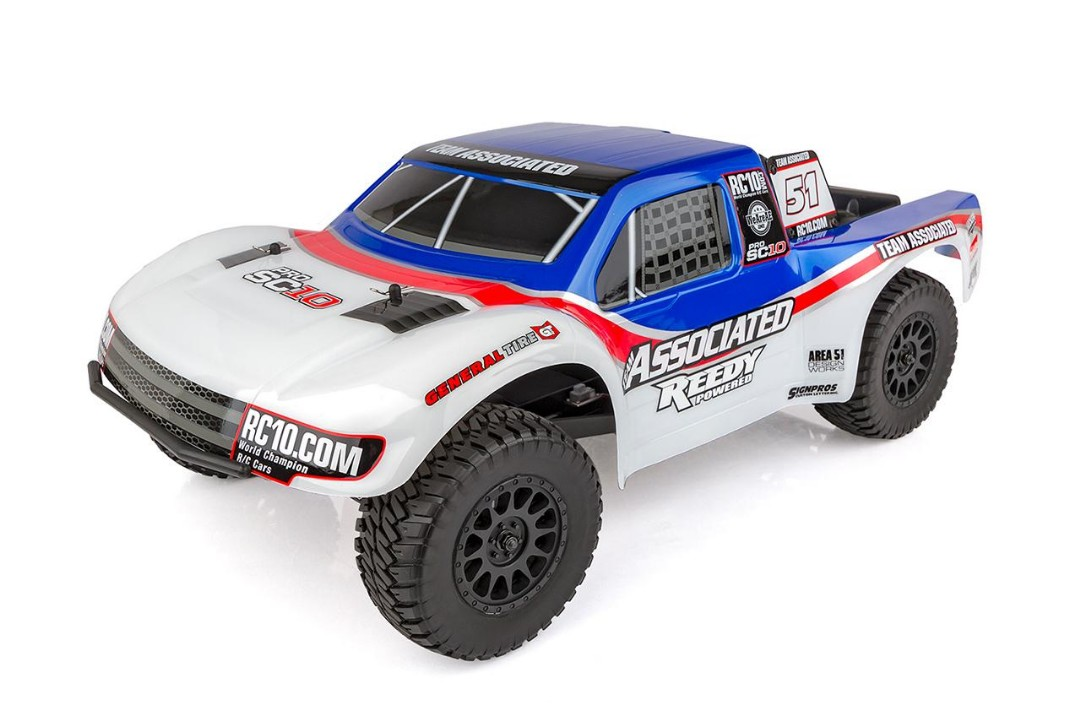 Team Associated ProSC10 AE Team RTR Brushless LiPo Combo