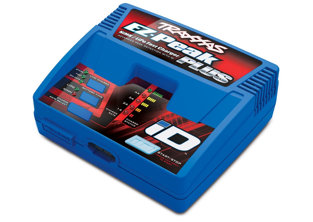 Traxxas EZ-Peak Plus Multi-Chemistry Battery Charger w/Auto iD (
